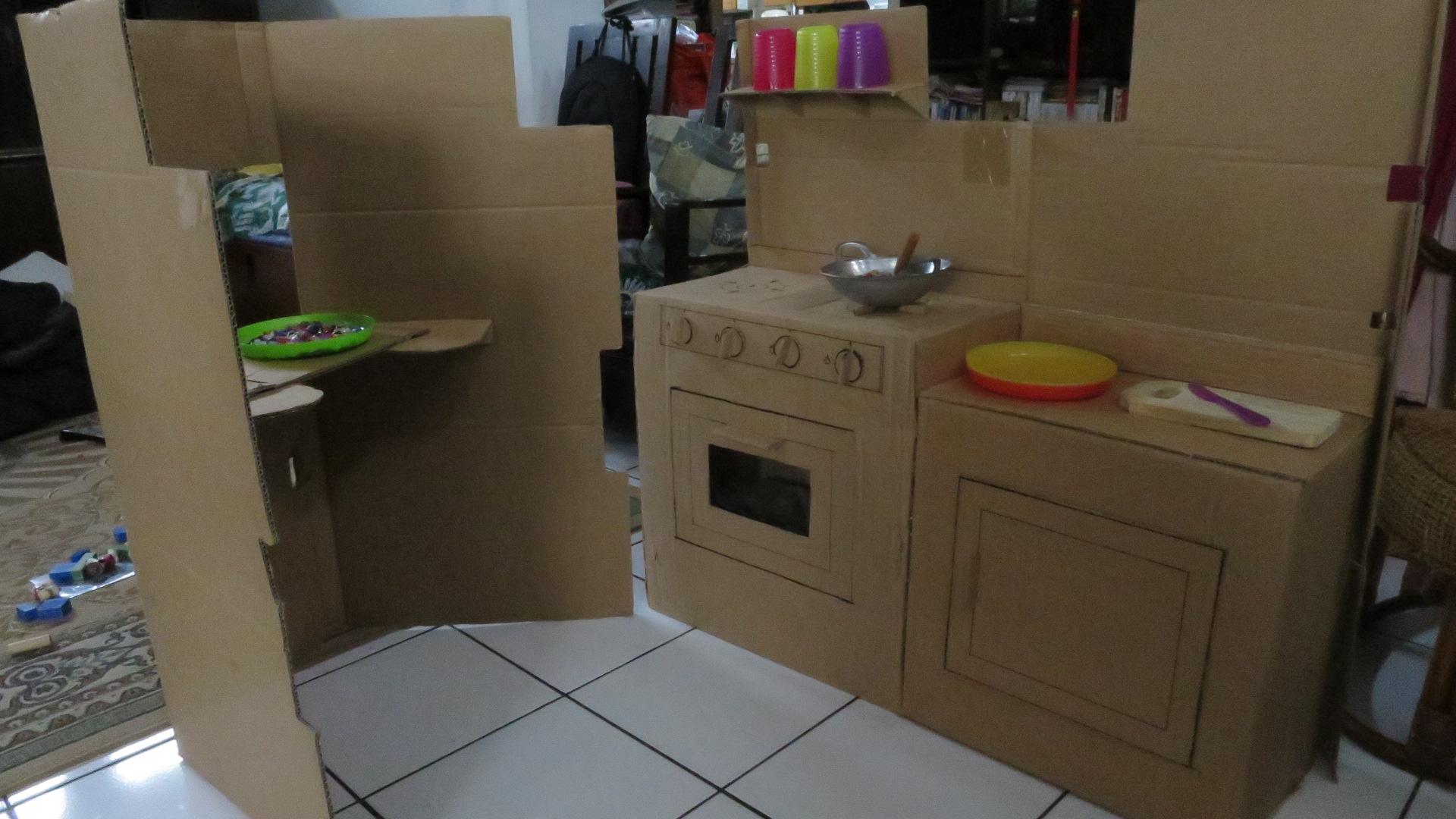 Daily stories nur maliyanti for Buat kitchen set sendiri